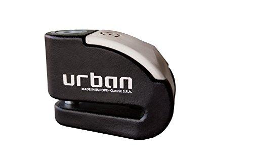 Urban Security Ur10 Motorcycle / Bike Alarm Disc Lock 10 Mm / 120 Db Alarm / Water Resistant + Reminder Cable