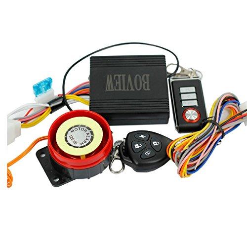 Sporthway® Motorcycle Anti-theft Alarm With Remote Engine Start For Suzuki, Honda, Yamaha, Kawasaki, Harley Davidson