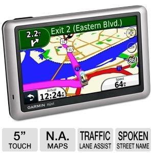 Garmin Nuvi 1450lm Auto Gps With Lifetime Maps
