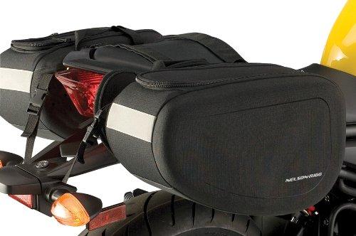 Nelson-rigg Sprt-50 Spirit Black Touring Saddle Bag