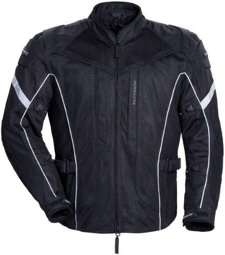 Tour Master Sonora Air Men's Textile Touring Motorcycle Jacket - Black/black / Large