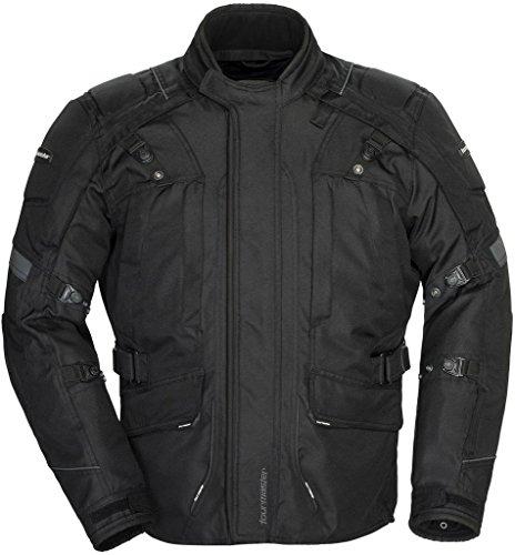 Tourmaster Transition Series 4 Men's Textile Motorcycle Touring Jacket (black, Tall Xx-large)