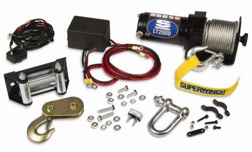 Superwinch 1120210 LT2000 12-Volt ATV Winch 2000 lb Capacity