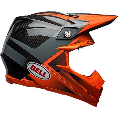 Bell Moto-9 Flex Hound Off-Road Motorcycle Helmet GlossMatte OrangeCharcoal Medium