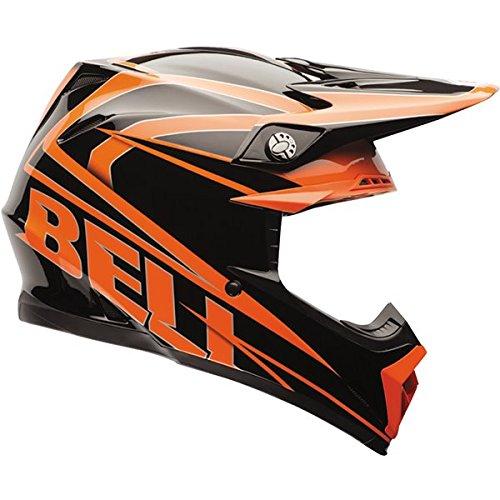Bell Moto-9 Unisex-Adult Off Road Helmet Tracker OrangeBlack Medium DOT-Certified