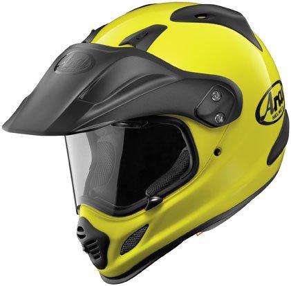 Arai XD4 Fluorescent Motorcycle Helmet - Large