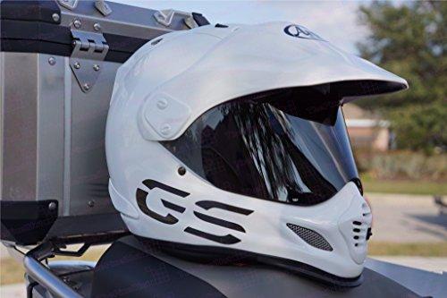The Pixel Hut gs00248 Helmet Graphics GS Design Reflective for Arai XD4 - Black