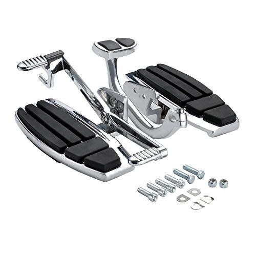TCT-MT Floorboard Driver Foot Board Set Kit Fit For Honda Gold Wing All 2001-2017 GL1800 2013-2016 F6B Models 2014-2015 Valkyrie