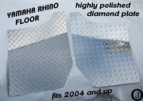 Yamaha Rhino Aluminum Diamond Plate Floor Boards 2004 UP