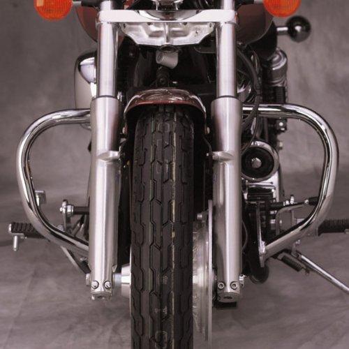 "National Cycle P4008 Paladin Chromed Steel Highway Bars For 2001-2007 Honda Vt7 - 1-1/4"""