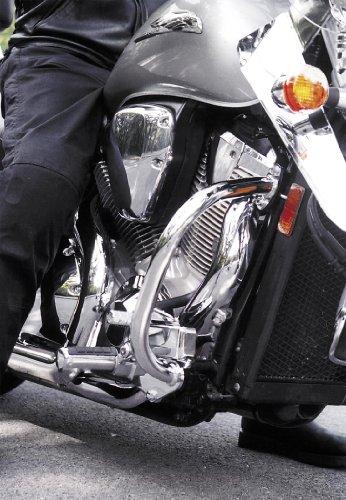 "National Cycle P4009 Paladin Chromed Steel Highway Bars For 2002-2008 Honda Vtx - 1-1/4"""