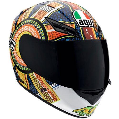 AGV K3 Dreamtime Valentino Rossi Motorcycle Helmets Dreamtime Lg