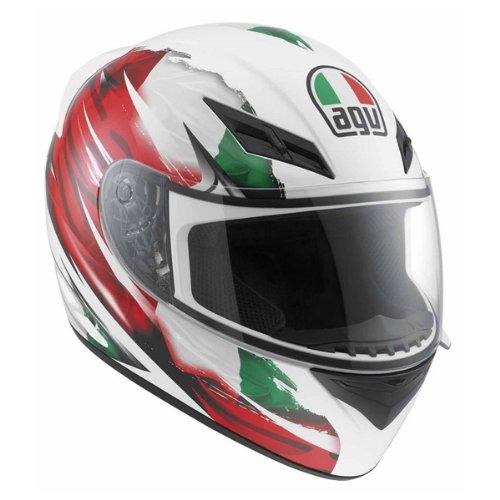 AGV K3 Flag Italy Full Face Motorcycle Helmet Multicolor X-Large