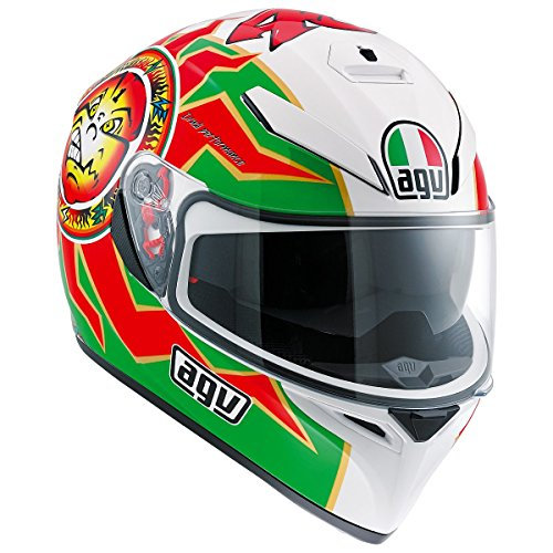 AGV K3 SV Adult Imola 1998 Street Motorcycle Helmet - RedGreenWhite  MediumLarge - DOT-Approved