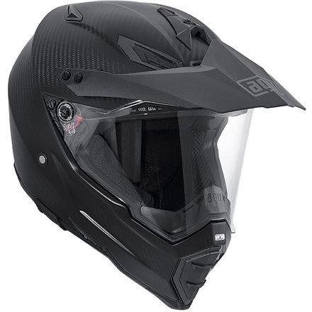 AGV AX-8 Dual Carbon Dual-Sport Adult Carbon-Aramidic-Fiberglass Helmet Fury Carbon Matt XS