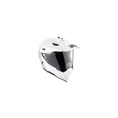 AGV AX-8 Dual Sport Evo Adult Helmet - White  2X-Large