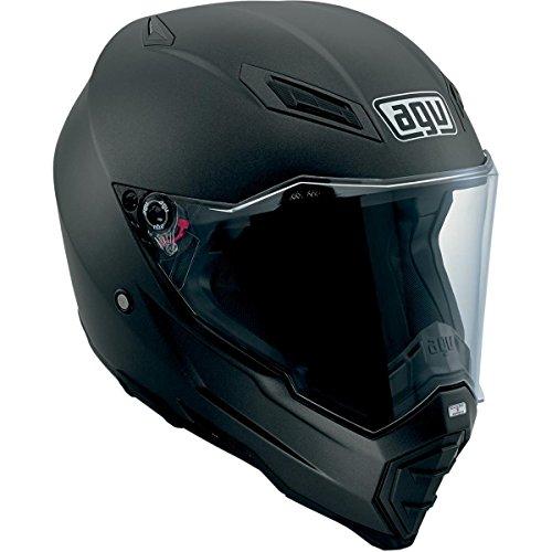 AGV AX-8 EVO Naked Helmet  Distinct Name Flat Black Gender MensUnisex Helmet Category Offroad Helmet Type Offroad Helmets Primary Color Black Size Md 7521O4E0002007