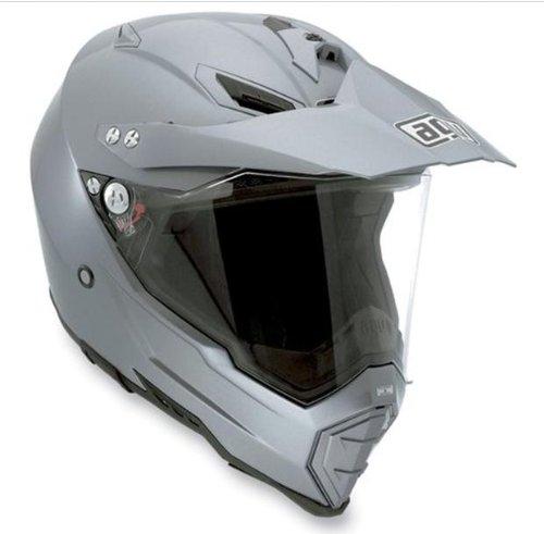 AGV AX-8 EVO Solid Helmet  Size 3XL Distinct Name Titanium Gray Helmet Type Full-face Helmets Helmet Category Street Gender MensUnisex Primary Color Gray 7611O4C0003012