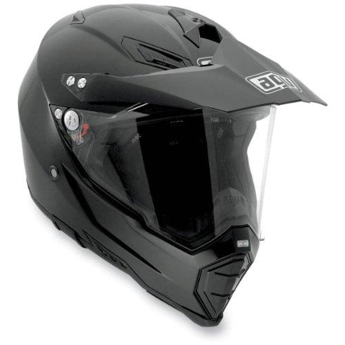 AGV AX-8 Dual EVO Black Off-Road Motorcycle Helmet 2X AGV SPA - ITALY 7611O4C0002011