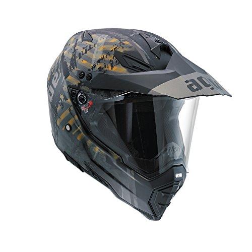 AGV AX-8 Dual Evo Grunge Full Face Helmet L