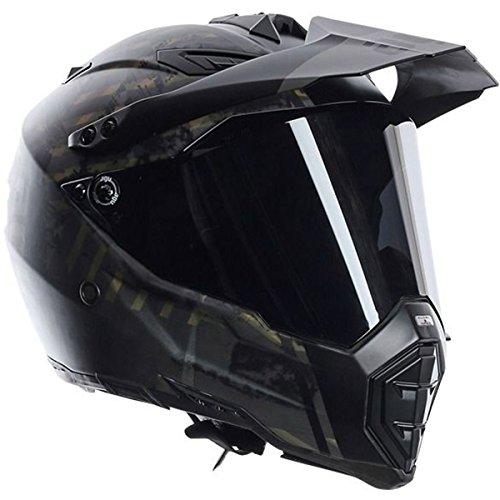 AGV AX-8 Dual Sport Evo Adult Helmet - Grunge  Medium