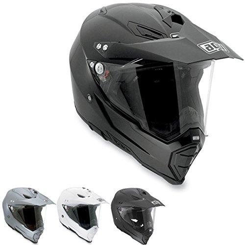 AGV AX-8 Dual Sport Evo Adult Helmet - White  Large