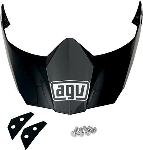 AGV Peak for AX-8 Dual Sport EVO Helmet - Matte Black KIT76113004