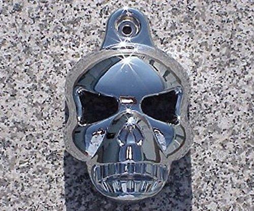 I5® Chrome Skull Horn Cover For Harley Davidson