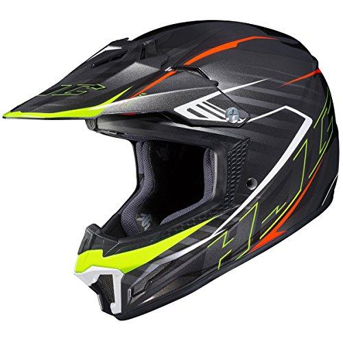 HJC CL-XY 2 Blaze MC5 BlackHi-Viz Yellow Youth Motocross Helmet - Youth Large
