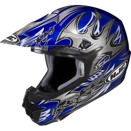 HJC CL-XY 2 Cross Up MC2 Youth Motocross Helmet - Large