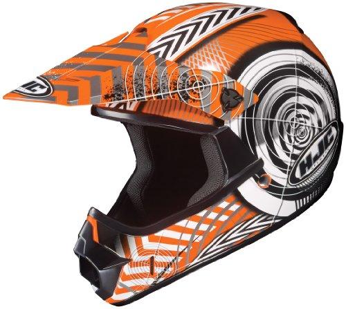 HJC CL-XY II Solid Black Youth Motocross Helmet size Large