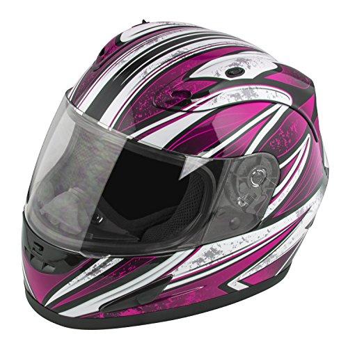 Raider Octane Womens Full Face Helmet Pink Large