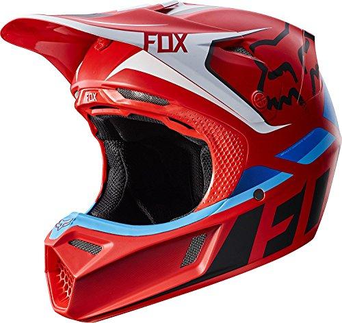 Fox Racing Seca Adult V3 Motocross Motorcycle Helmet - Red  Large
