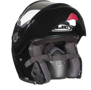 HJC CL-Max Modular Solid Snow Helmet Black Snow Helmet