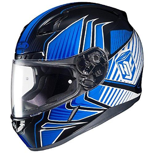 HJC Snow CL-17 Redline MC2 Blue Helmet - X-Large