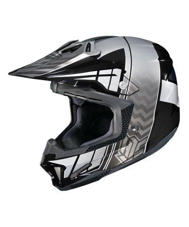 Hjc Snowmobile Helmet - Cl-X7 Cross Up Mc5 Sil Xsm