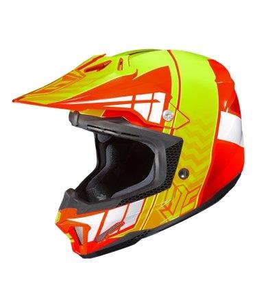 Hjc Snowmobile Helmet - Cl-X7 Cross Up Mc6 Forg Xsm