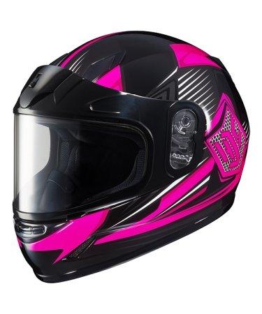 Hjc Snowmobile Helmet - Cly Striker Mc8 Pink Sm