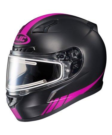 Hjc Snowmobile Helmet - Heated Shield - El Cl17 S-Lne Mc8F Pink Xs