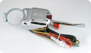 Golf Cart Club Car Ez-go Yamaha 8 Wire Turn Signal Switch Chrome