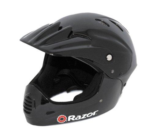 Razor Full Face Youth Helmet Black