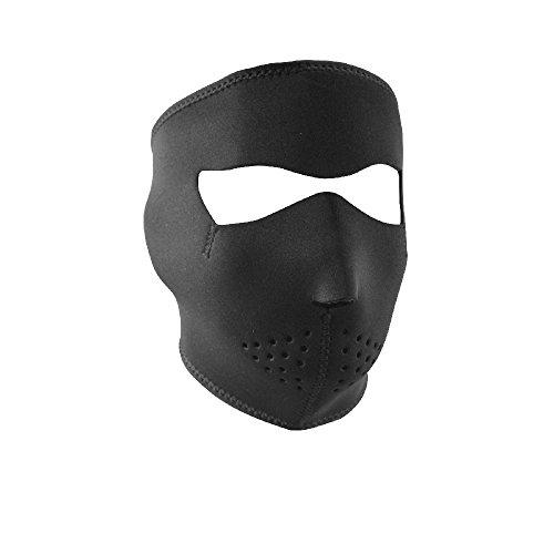 ZANheadgear Neoprene Full Face Mask Black