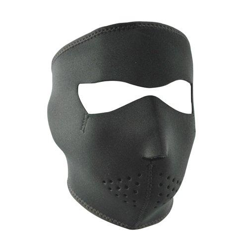 ZANheadgear WNFL114  Neoprene Full Face Mask Microfleece Lining Black