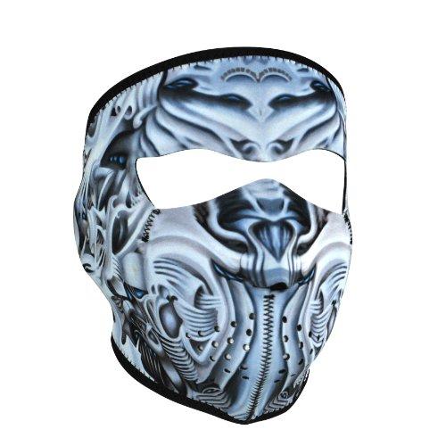 ZANheadgear WNFM074 Neoprene Full Face Mask Biomechanical