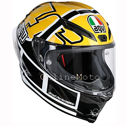AGV Corsa-R Rossi Goodwood Motorcycle Helmet DOT LG