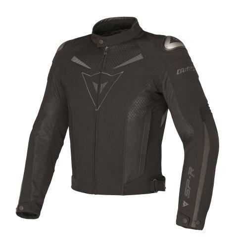 Dainese Super Speed Tex Textile Jacket (euro 48/us 38, Black/black/dark-gull-gray)