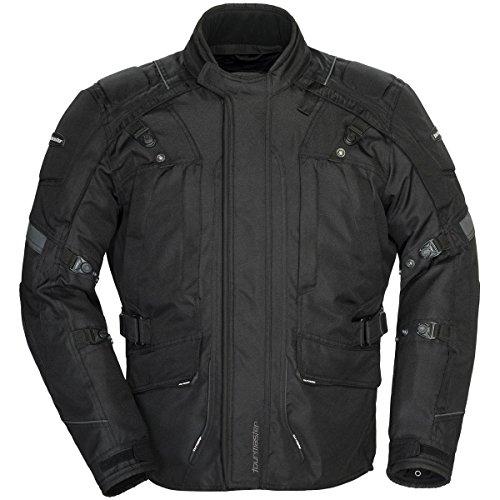Tourmaster Transition Series 4 Men's Textile Motorcycle Touring Jacket (black, Medium)