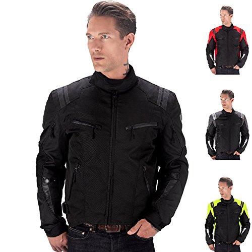 Viking Cycle Ironborn Motorcycle Textile Jacket (black-s)