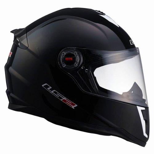LS2 Helmets FF392 Junior Full Face Motorcycle Helmet Gloss Black Large