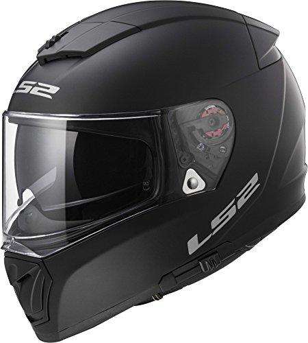 LS2 Helmets Unisex-Adult Full Face Helmet Matte Black Large Breaker